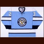 Eddie Shack Pittsburgh Penguins Authentic Alternate Jersey