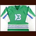 1980's Binghamton Whalers Team Issued Un-Numbered Jersey