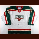 2005-06 Erik Westrum Houston Aeros Game Worn Jersey