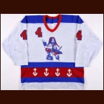 Late 1980's Ian Kidd Milwaukee Admirals Game Worn Jersey – Paul Molitor Provenance - The St. Paul, Minnesota Collection