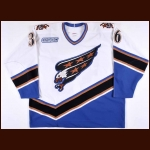1999-00 Mike Eagles Washington Capitals Game Worn Jersey