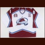 "2010-11 Troy Murray Colorado Avalanche Pre-Game Ceremony Worn Jersey – ""1996 Stanley Cup Finals"" - 15-year Reunion – Team Letter"