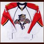 2007-08 Greg Campbell Florida Panthers Game Worn Jersey - Team Letter