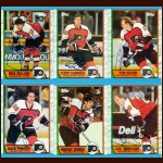 1989-90 Topps & OPC Philadelphia Flyers Autographed Card Group of 27