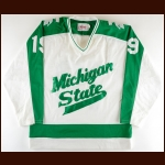 1984-85 Dan Beaty Michigan State University Game Worn Jersey
