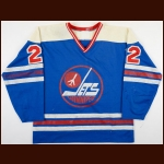 1978-79 Lyle Moffat WHA Winnipeg Jets Game Worn Jersey