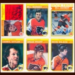 1982-83 OPC Philadelphia Flyers Autographed Card Group of 17 – Brad McCrimmon (Deceased)