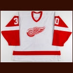 1988-89 Greg Stefan Detroit Red Wings Game Worn Jersey