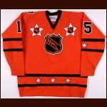 1981 Kent Nilsson NHL All Star Game Worn Jersey - Photo Match