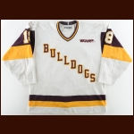 1995-96 Matt Taus University of Minnesota-Duluth Game Worn Jersey