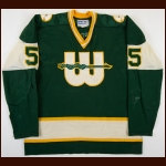 1975-77 Ron Busniuk WHA New England Whalers Game Worn Jersey