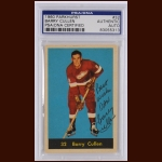 Barry Cullen 1960 Parkhurst – Detroit Red Wings – Autographed – PSA/DNA