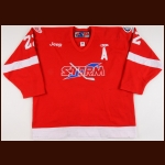 2004-07 Scooter Smith Toledo Storm Game Worn Jersey