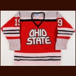 Late 1970's/Early 1980's Ohio State University Game Worn Jersey – Player #19