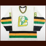 1989-90 Todd Hlushko London Knights Game Worn Jersey