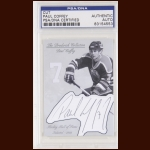 Paul Coffey Autographed Card - The Broderick Collection
