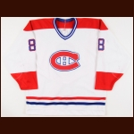 1988-89 Steve Martinson Sherbrooke Canadiens Game Worn Jersey