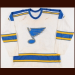 1970-71 Norm Dennis St. Louis Blues Game Worn Jersey