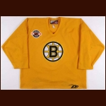 Circa Late 1990's Boston Bruins Practice Worn Jersey