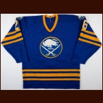 1984-86 Dave Maloney & Phil Russell Buffalo Sabres Game Worn Jersey - Photo Match