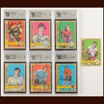 1972-73 Topps Autographed Card Group of (42) – Most GAI Certified – Includes Hall of Famers and Deceased