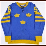 1976 Borje Salming Canada Cup Game Jersey – Borje Salming Letter