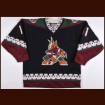 1996-97 Dallas Drake Phoenix Coyotes Game Worn Jersey - Inaugural Season