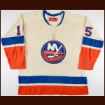 1973-75 Billy Harris New York Islanders Game Worn Jersey