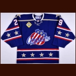 2005-06 Mika Noronen Rochester Americans Game Issued Jersey
