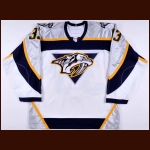 2006-07 Brandon Segal Nashville Predators Pre-Season Game Worn Jersey – Team Letter