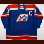 1976-77 Dick Proceviat WHA Indianapolis Racers Game Worn Jersey