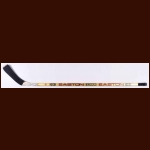 Tony Granato Los Angeles Kings gold Easton Game Used Stick – Autographed