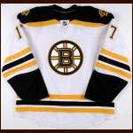 2010-11 Milan Lucic Boston Bruins Game Worn Jersey - Stanley Cup Season – Team Letter