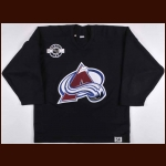 Circa Early 2000's Colorado Avalanche Practice Worn Jersey