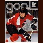 Bill Flett Philadelphia Flyers Autographed Goal Magazine Cover - Deceased