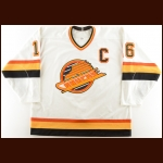 1990-91 Trevor Linden Vancouver Canucks Game Worn Jersey – 1st All Star Season – The Terrence Murphy Collection – Joe Murphy Letter