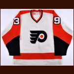 1978-79 Robbie Moore Philadelphia Flyers Game Worn Jersey - Photo Match