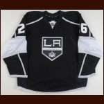 2012-13 Slava Voynov Los Angeles Kings Game Worn Jersey