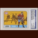 Jacques Lemaire 1968 Topps - Montreal Canadiens - Autographed - PSA/DNA