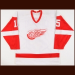 1986-87 Chris Cichocki Detroit Red Wings Game Worn Jersey