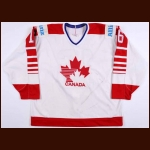 "1990 Pat Murray Team Canada Goodwill Games Game Worn Jersey – ""Allianz"""