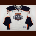 2010 Richard Bachman ECHL All Star Game Worn Jersey – ECHL Letter