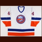 1993-94 Todd Bertuzzi New York Islanders Pre-Season Game Worn Jersey - Pre-Rookie