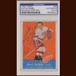 "Earl ""Dutch"" Reibel 1957 Topps - Detroit Red Wings - Autographed - PSA/DNA"