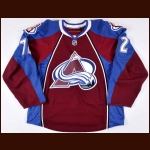 2009-10 Joel Chouinard Colorado Avalanche Training Camp Game Worn Jersey – Team Letter