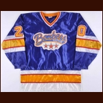 Early 1990's Dayton Bombers Game Issued Jersey – Player #20