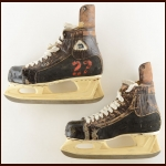 1982-83 Mike Bossy New York Islanders Stanley Cup Finals Daoust Game Used Skates – 1st Team NHL All Star – 60 Goal Season – Lady Byng Trophy – Stanley Cup Season – Photo Match – The Terrence Murphy Collection – Joe Murphy Letter – Photo Match