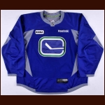 2010's Vancouver Canucks Practice Worn Jersey