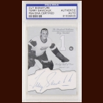 Terry Sawchuk Autographed Card - The Broderick Collection - Deceased