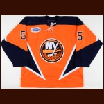 "2006-07 Jason Blake New York Islanders Game Worn Jersey – ""Garth Brooks"" - 40-Goal Season - All Star Season - Photo Match – NHL Letter"